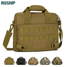 Large Men Military messenger bag Laptop Tactics Shoulder walking Bag Ultra-light Hunting Range Soldier Carrier MOLLE system