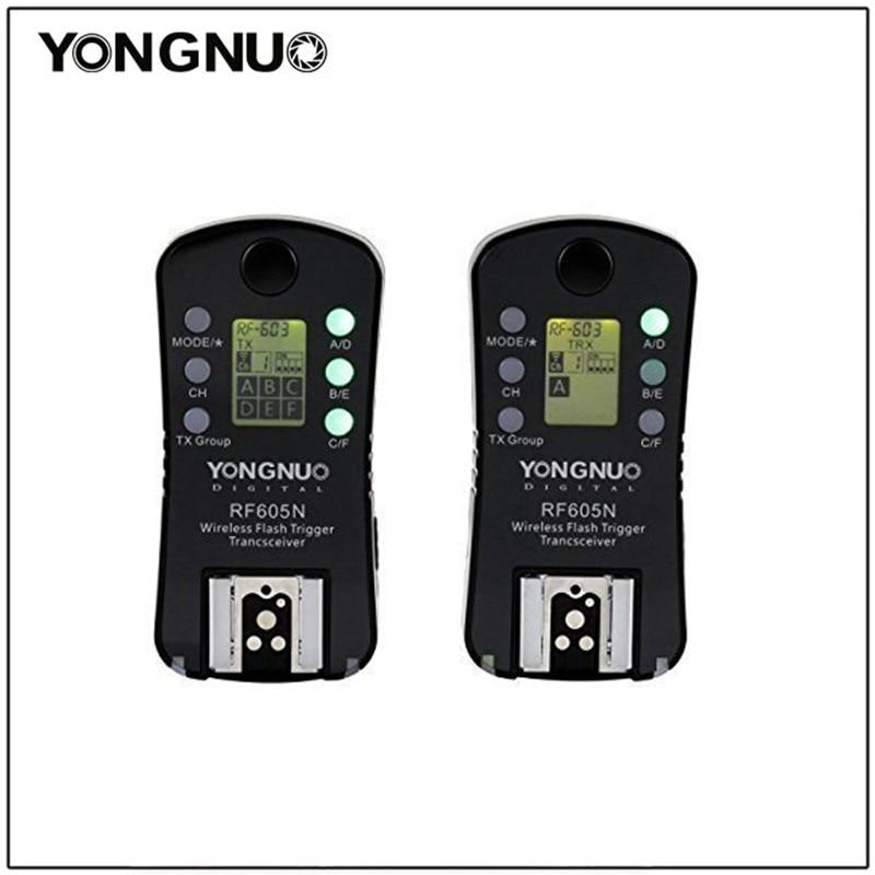 Yongnuo RF605N แฟลช RF 605N ไร้สายรีโมทชัตเตอร์สำหรับ Nikon D7100 D5200 D5100 D3100 D3000 D90 D80 D70 D70s-ใน ตัวปล่อยชัตเตอร์ จาก อุปกรณ์อิเล็กทรอนิกส์ บน AliExpress - 11.11_สิบเอ็ด สิบเอ็ดวันคนโสด 1