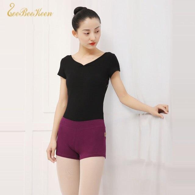 Black/Grey/Purple Gymnastic Ballet Shorts Underpants Adult Ballet Dance Practice Shorts Ballerina Dance Clothes Women Costume