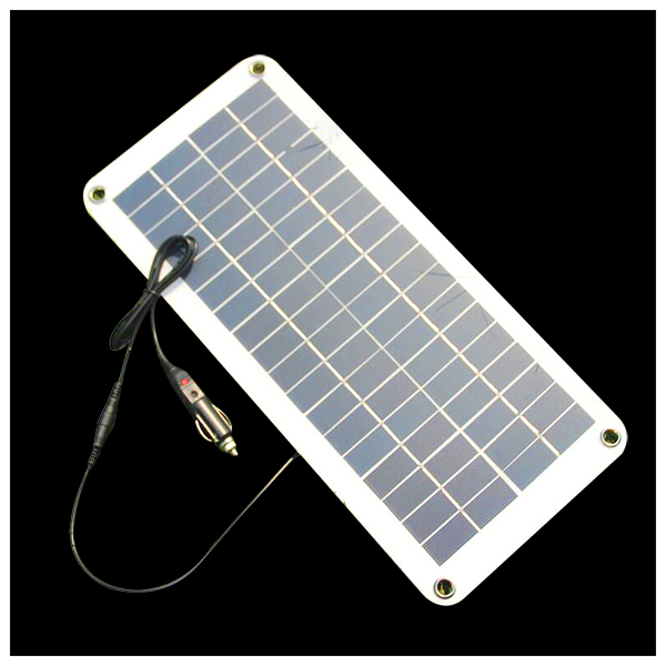 Top Deals Semi-flexible 18V/5V 10.5W Portable Solar Panel Charger For 12V Car Boat Motor Battery Charger DIY Solar System NEW new solar panel 30000mah diy waterproof power bank 2 usb solar charger case external battery charger accessories