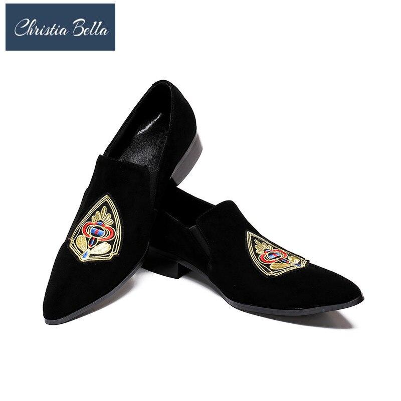 Homens Designer Bella Mocassins Verão Marca Genuíno Preto Couro Moda Sapatos De Confortável Italiano Nova Em Mens Deslizamento Casuais Christia Apartamentos RIwdx77