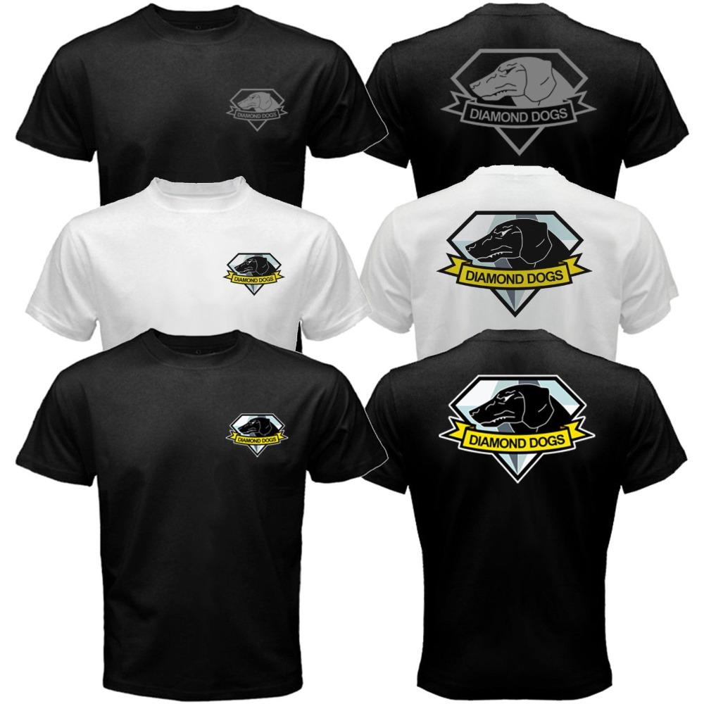 Diamond Dogs of War The Metal Gear Solid Snake 5 V Phantom Pain Big Boss T-shirt