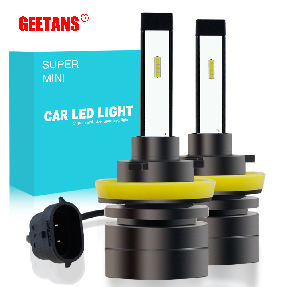 GEETANS <font><b>H7</b></font> HB4 H3 H11 H1 H13 H8 9005 9006 CSP <font><b>LED</b></font> Headlight 60W Car Headlights Bulb <font><b>Head</b></font> Fog <font><b>Lamp</b></font> 9004 <font><b>Light</b></font> EJ image
