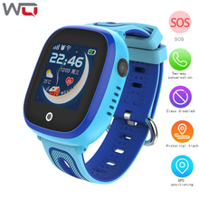 WQ DF31G Kids Smart Watch Safe Monitor with Camera Waterproof Support SIM Dial SOS Call GPS