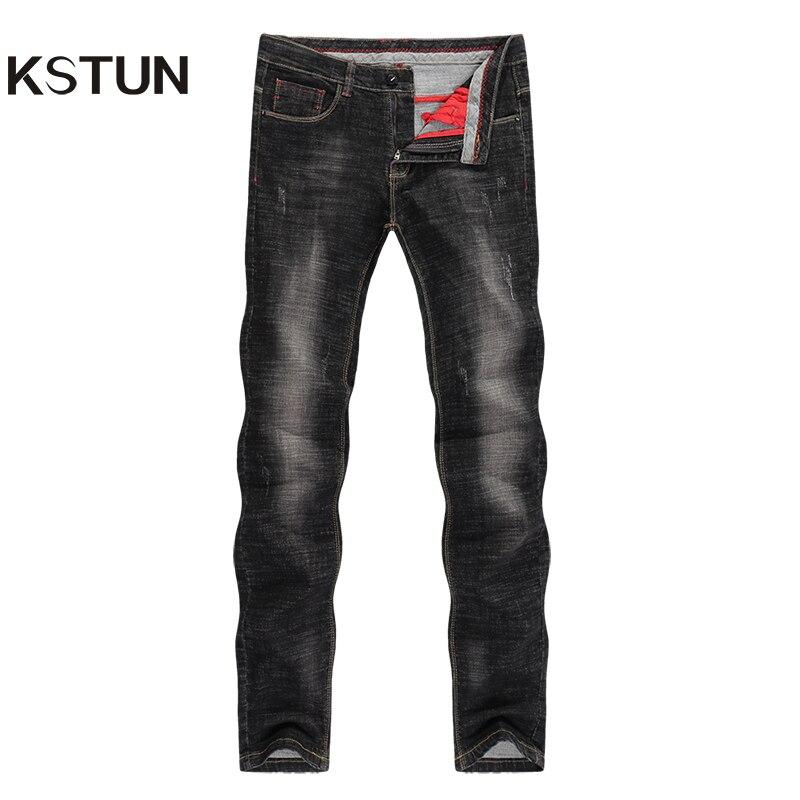 Men's   Jeans   2019 Mens Black   Jeans   Slim Fit Stretch Autumn Denim Casual Quality Pants Business Trousers for Man Boys   Jean   Homme