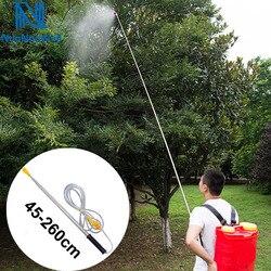 Nuonuowell agricultura alta pressão 2.5m pesticidas spray barra de extensão tipo haste pesca pulverizador elétrico da árvore fruto pulverização