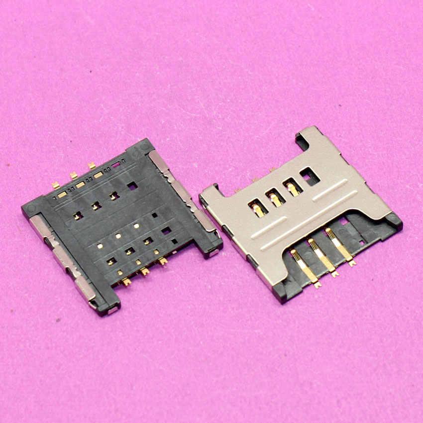 YuXi nuevo lector de tarjetas Sim slot socket titular módulo de reemplazo para samsung i9000 I9003 I8700 S5360 S5570 I9220 N7000