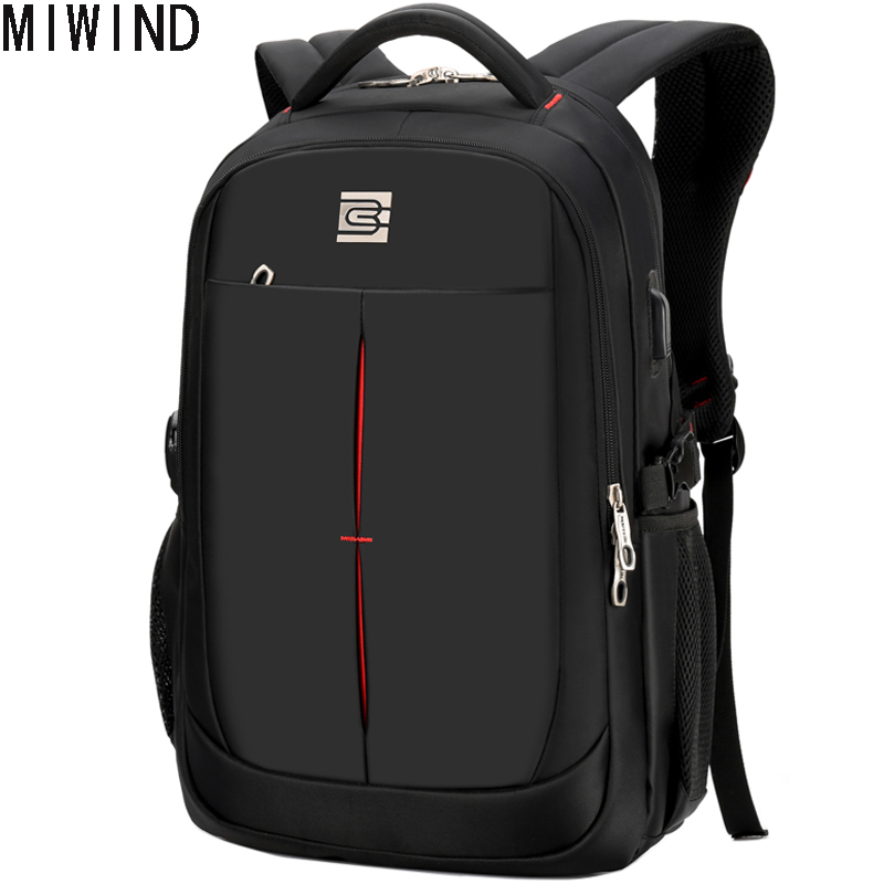 2017 Men Backpack Laptop Travel Bag Waterproof Nylon School Backpacks for Teenagers Computer Bags School Rucksack TBD1167 2017 senkey style new fashion casual backpack men travel computer laptop backpacks high quality for teenagers student school bag