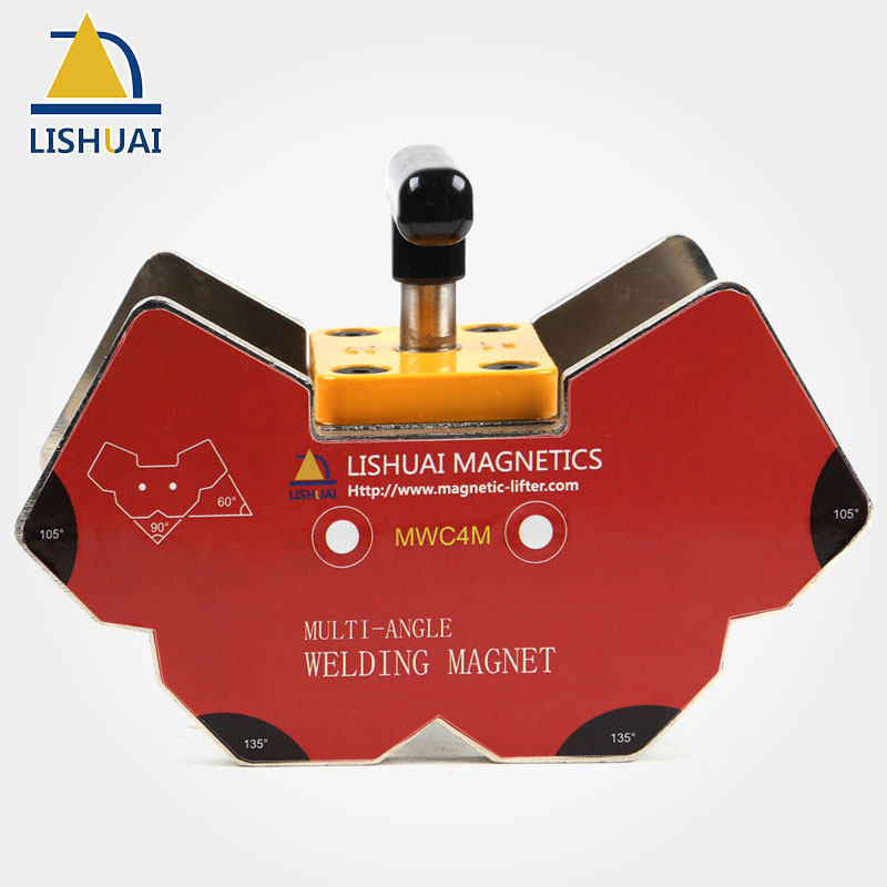 LISHUAI Multi-angle Welding Angle Magnets/Strong Neodymium Magnet Welding Holder for Angle Tools MWC4 lishuai multi angle switchable magnetic holder strong power ndfeb welding magnets clamp