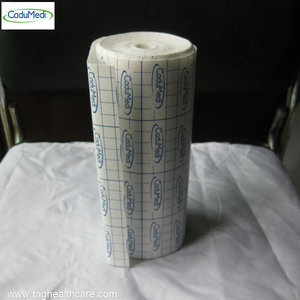 1rolls 20cm*10m non-woven adhesive tape fabric tape medical Nonwoven wound dressing no residue fabrics sheet dressing
