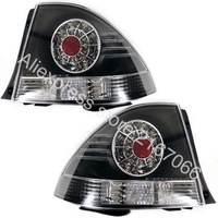 fits TOYOTA ALTEZZA / LEXUS IS200 / 300 1998 2005 Tail Lights Rear Lamps SET LEFT + RIGHT CHROME DIODE TUNING PAIR