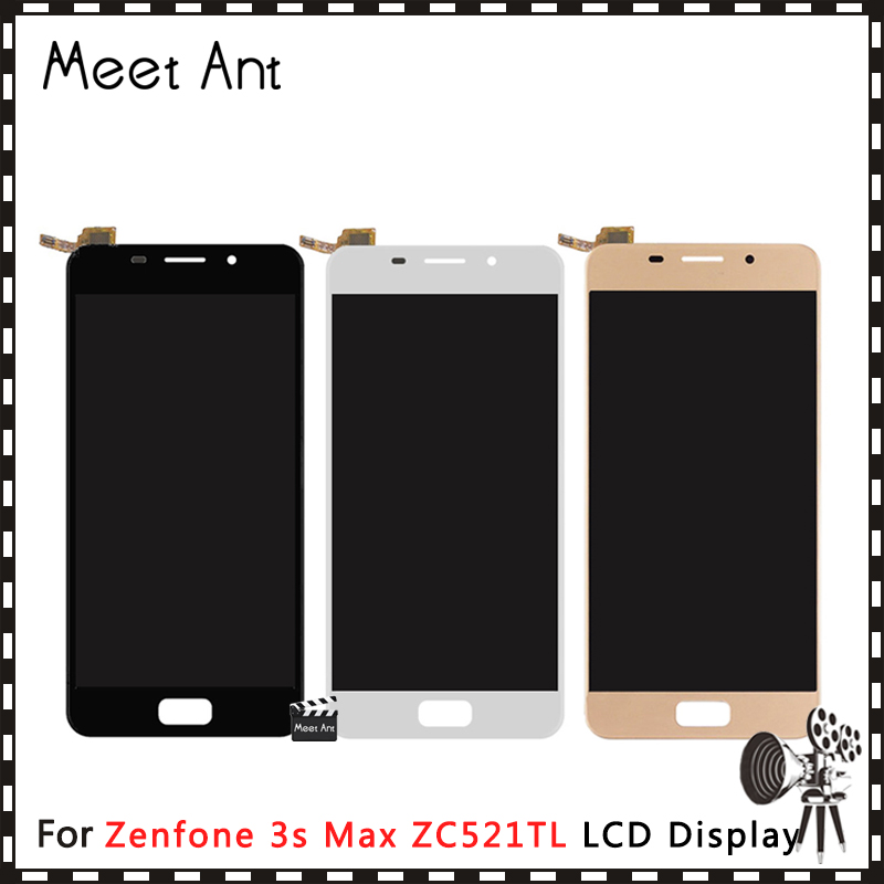 DHL 10Pcs/lot High Quality 5.2'' For <font><b>ASUS</b></font> Zenfone <font><b>3S</b></font> <font><b>Max</b></font> ZC521TL X00GD LCD Display Screen With Touch Screen Digitizer Assembly image