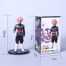 2019 NEW Dragon Ball Z soul X Super Saiyan Pink Hair Son Goku Black Action Figure Dragonball Gokou PVC Model Doll Toys