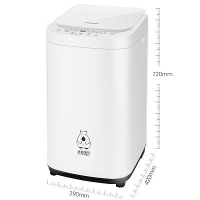 AC220-240V 50-60HZ 220W POWER FULLY AUTOMATIC WASHING MACHINE baby clothes underwear socks laundry cooking sterilization 3.5KG