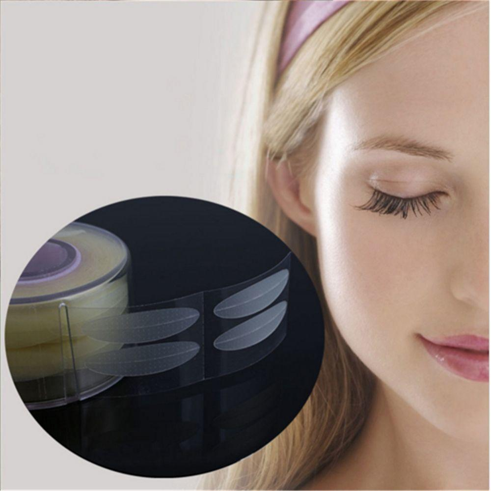 Double Eyelid Stickers 500pcs Invisible Fiber Lift Striped Tape Adhesive Stickers Eye Tape
