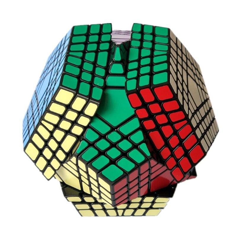 7x7 Megaminx 7x7x7 Magic Cube Teraminx 7x7 Professional Dodecahedron Cube Twist Puzzle Educational Toys