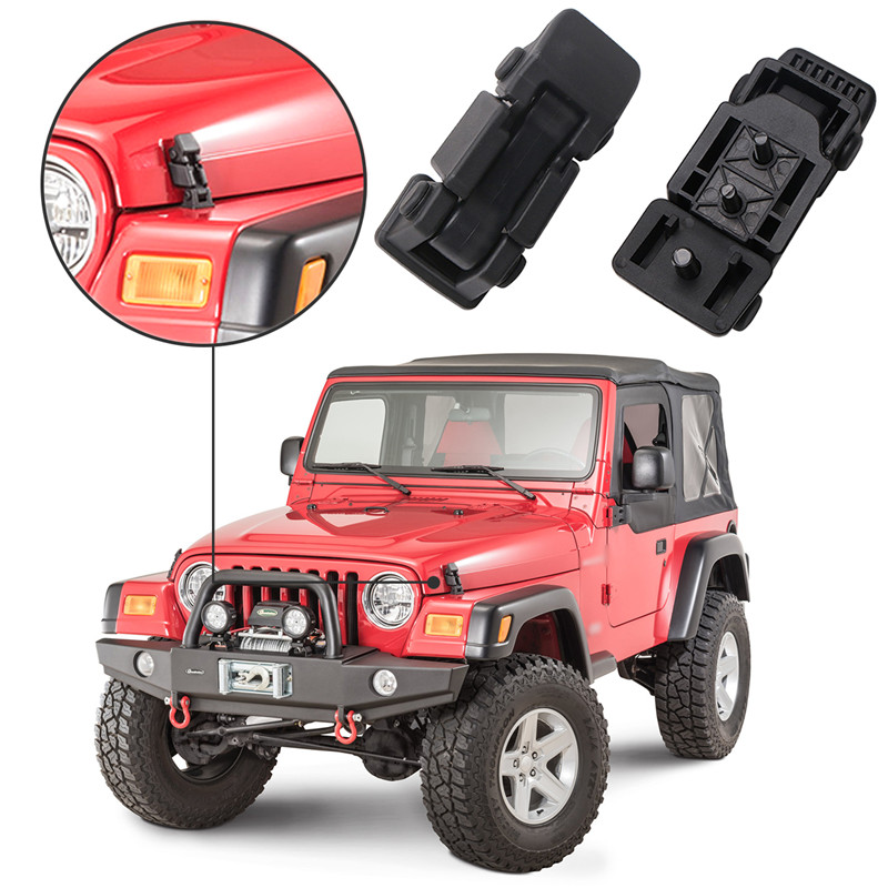 us $23 64 29% off aliexpress com buy for 1997 2006 jeep wrangler tj hood lock latch catch brackets latches holder anti theft key car exterior 2006 Ford Mustang Hood