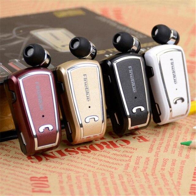 Woweinew Para F-V3 Fineblue Bluetooth Sem Fio do Fone de ouvido Fone De Ouvido Clipe Retrátil frete grátis & grosso