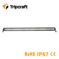 Tripcraft 288W LED Driving Light 52inch IP67 waterproof led light bar for Offroad Boat Car Truck ATV SUV 4WD 4x4 Super Bright
