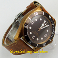 41mm corgeut coffee dial PVD case Sapphire Glass miyota automatic mens Watch