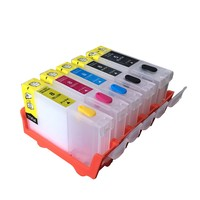 4PCS Refillable Ink Cartridge FOR CANON IX4000 IX5000 IP3300 IP3500 MP510 MP520 MX700 Printer With Auto