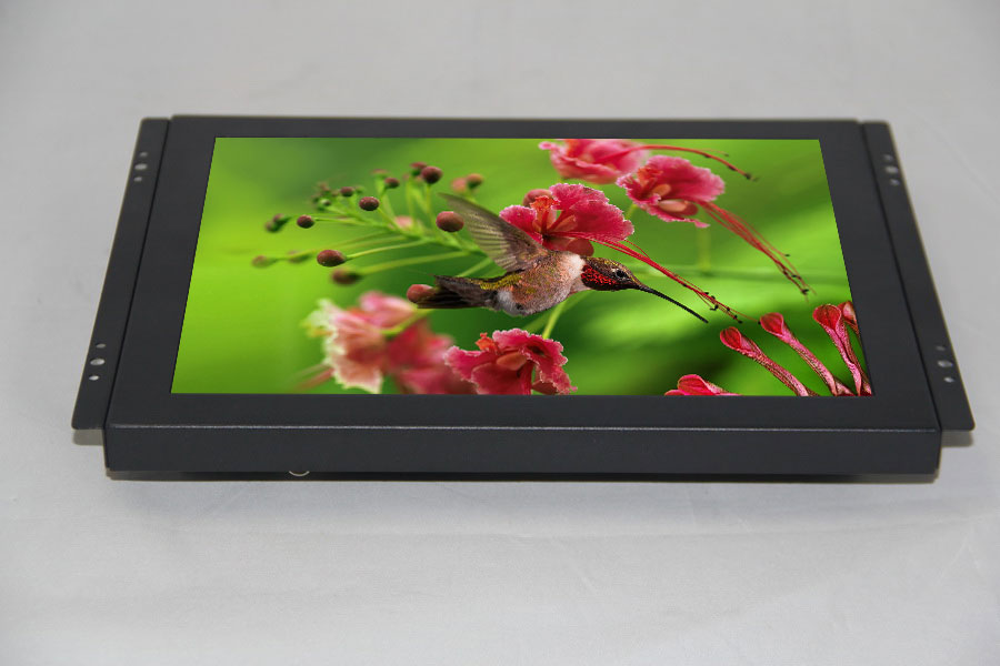 8 inch LCD industry Open Frame Industrial monitor/ metal monitor with USB /VGA /AV/BNC/HDMI