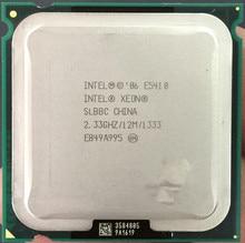 INTEL XEON E5410 SLBBC SLAEJ 2.33GHz/12M/1333Mhz/CPU equal to775 Core 2 Quad Q8200 CPU,works on LGA775 mainboard no need adapter
