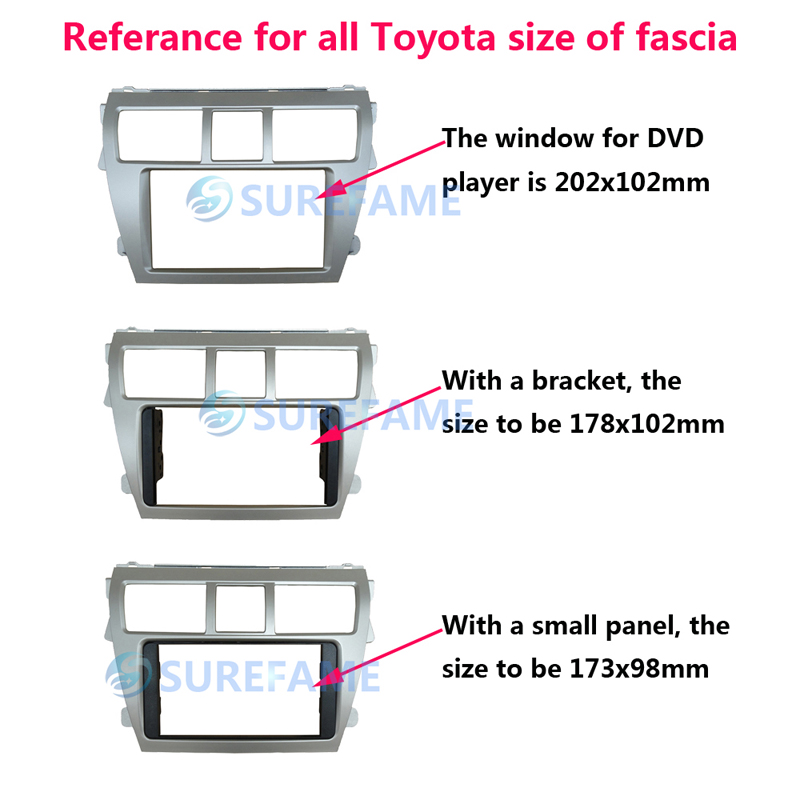 Двойной Din Автомобильная фация для Toyota Prius 2009+(левое колесо) Радио DVD стерео CD панель приборная панель набор отделка фасции Лицевая панель рамка