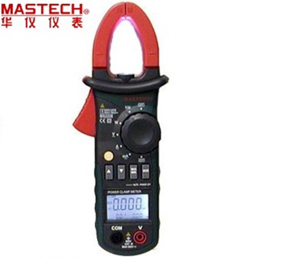 MASTECH MS2208 гармоническое Мощность клещи Тесты er мультиметр Trms Напряжение ток Мощность фазы угол Тесты