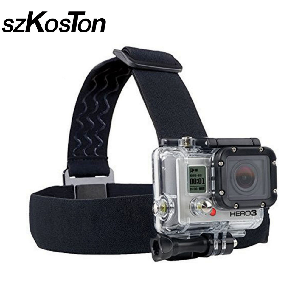 action camera gopro accessories headband chest head strap. Black Bedroom Furniture Sets. Home Design Ideas