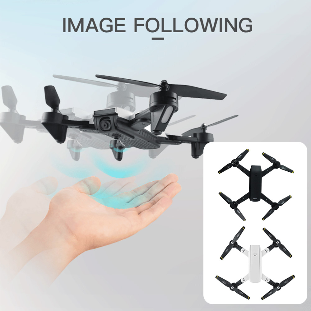 SG700 FPV Selfie Drone Intelligent WIFI Real-Time Speed Adjustable Aerial Photography V-Sign 2.0MP Dual HD Camera