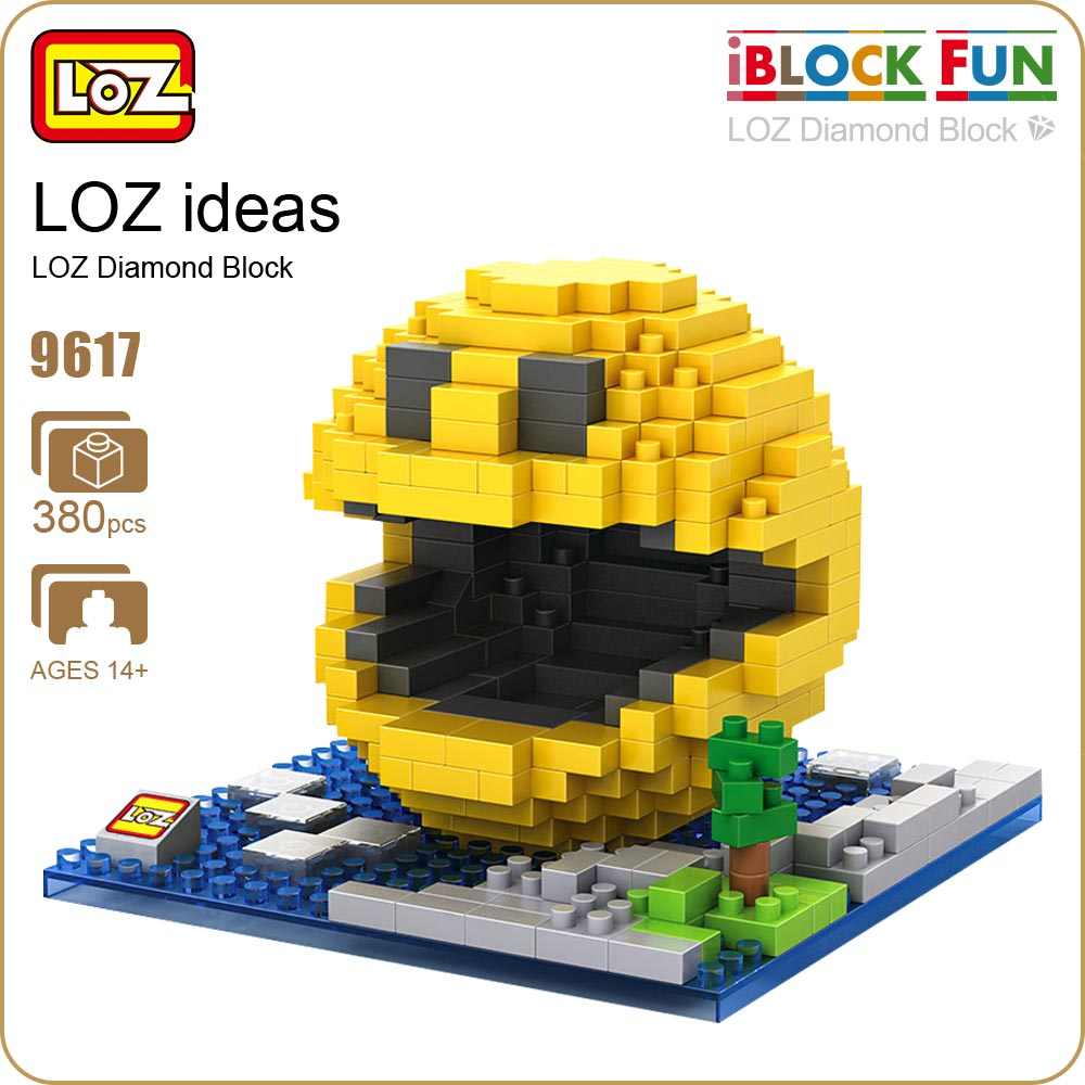 LOZ Diamond Blocks Figure Toys Bricks Kid Children Intelligence Models Mirco Granules Building DIY Educational Figurine 9617 loz architecture space shuttle mini diamond nano building blocks toys loz space shuttle diy bricks action figure children toys
