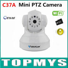 Vstarcam Mini PTZ Dome Camera C37A 960P HD P2P WIFI CCTV ip camera security indoor mini ip camera built in TF card slot H.264