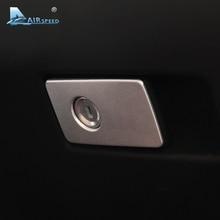 Velocidad del aire para Volvo XC60 V60 S60 S80 Copiloto Interior Del Coche Pegatinas Coche Guantera Keyhole Cubiertas Decorativas Molduras Styling Car