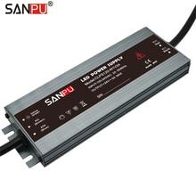 SANPU LED ספק כוח 24 v 120 w 5A עמיד למים IP67 קבוע מתח AC כדי DC 24 וולט Lighitng שנאי slim LED נהג 24VDC