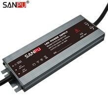 SANPU zasilacz LED 24 V 120 W 5A wodoodporna IP67 stałe napięcie AC do DC 24 V oświetlenia transformator slim sterownik LED 24VDC