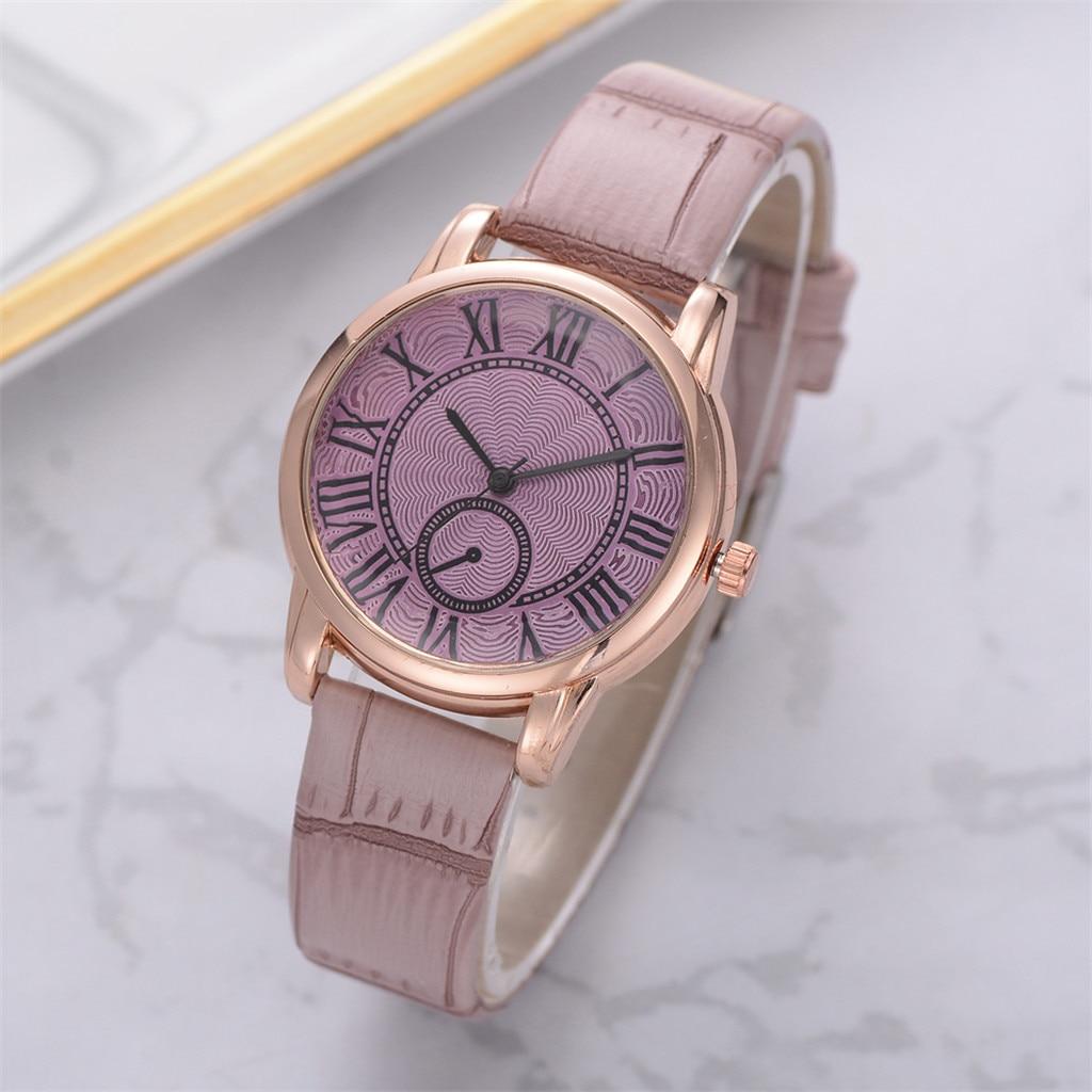 women watches top brand luxury Fashion Luxurious Ladies Leather Imitation Pattern Quartz Analog Wrist Watches Relogio Feminino