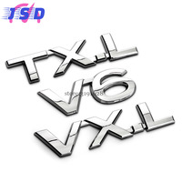 Car Styling 3D Exterior Accessories Metal Stickers Badge Emblem Decals For Toyota Rav4 Yaris Avensis Auris