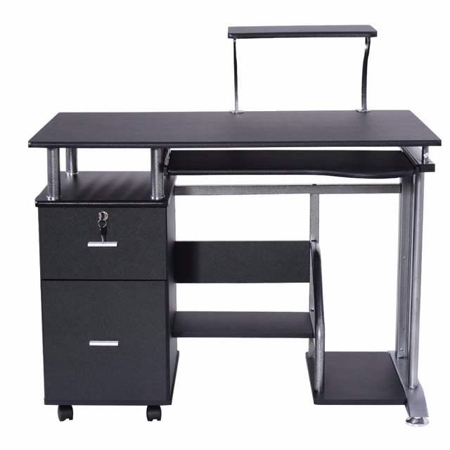 Goplus Computer Desk Pc Laptop Table