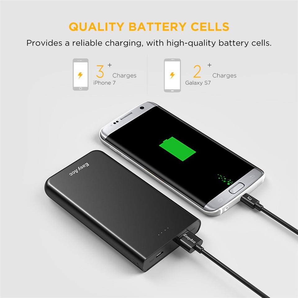 Banco do Poder bank 18650 bateria externa carregador Tipo : Emergencial / Portátil