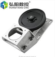 Integrated type Straight tooth/helical tooth belt gear box,gear box gear rack and synchronous wheel reducer box cnc parts 1.25