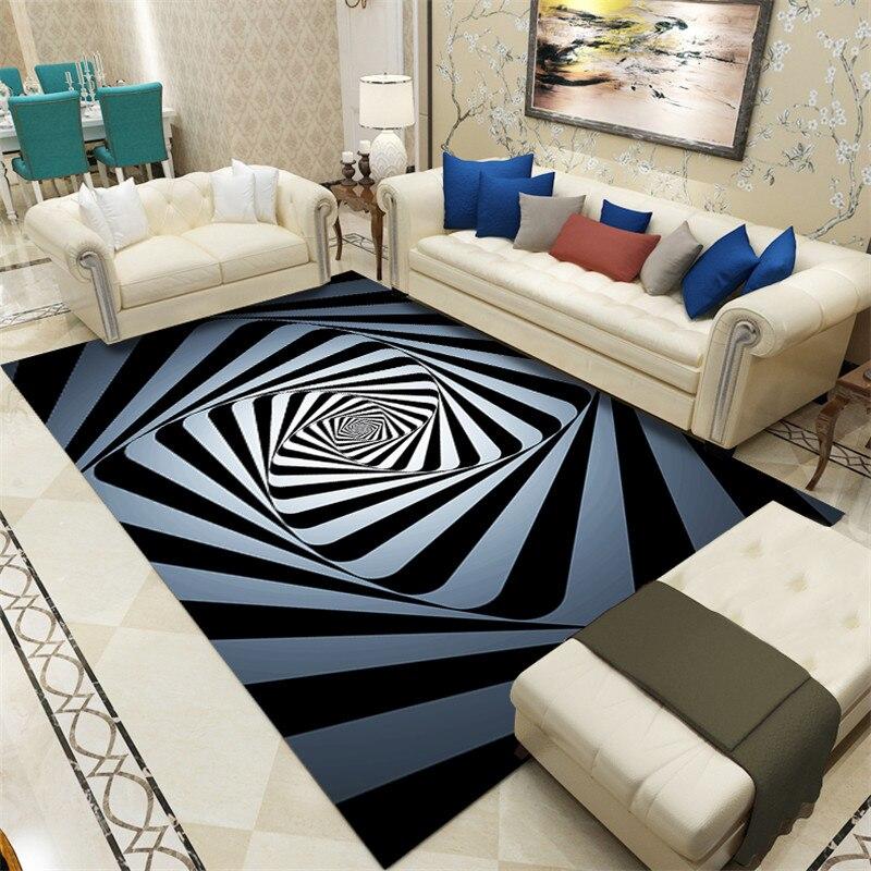 Tapis et tapis simples modernes de Rectangle de Tapete de tapis de plancher de Table basse de Sofa de tapis de style européen pour des petits tapis à la maison de salon