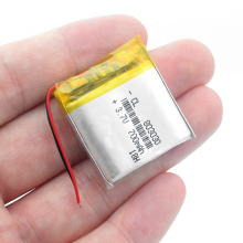 Литий-ионный аккумулятор 3,7 в полимерный литиевый аккумулятор 803030 083030 700 мАч с печатной платой для игрушек DVD gps MP3 MP4 MP5 Смарт-часы