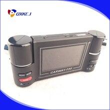 Free shipping Car Camera Recorder Car Dvr Dual Lens Dvr 2.7 Inch TFT Screen 2 Cameras Dashcam Digital Video dual dash camera