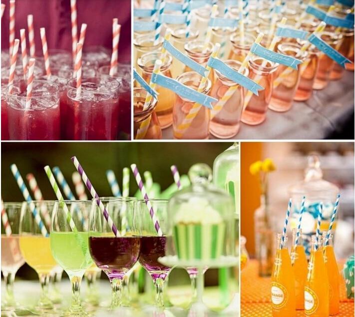 """5000 clair 5.5/"""" Slim Haute Qualité Pailles Cocktail Party Club Pub"""