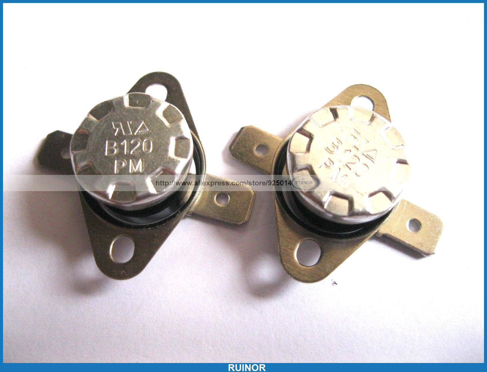 ФОТО 50 Pcs Temperature Switch Thermostat 120Degree N C KSD301