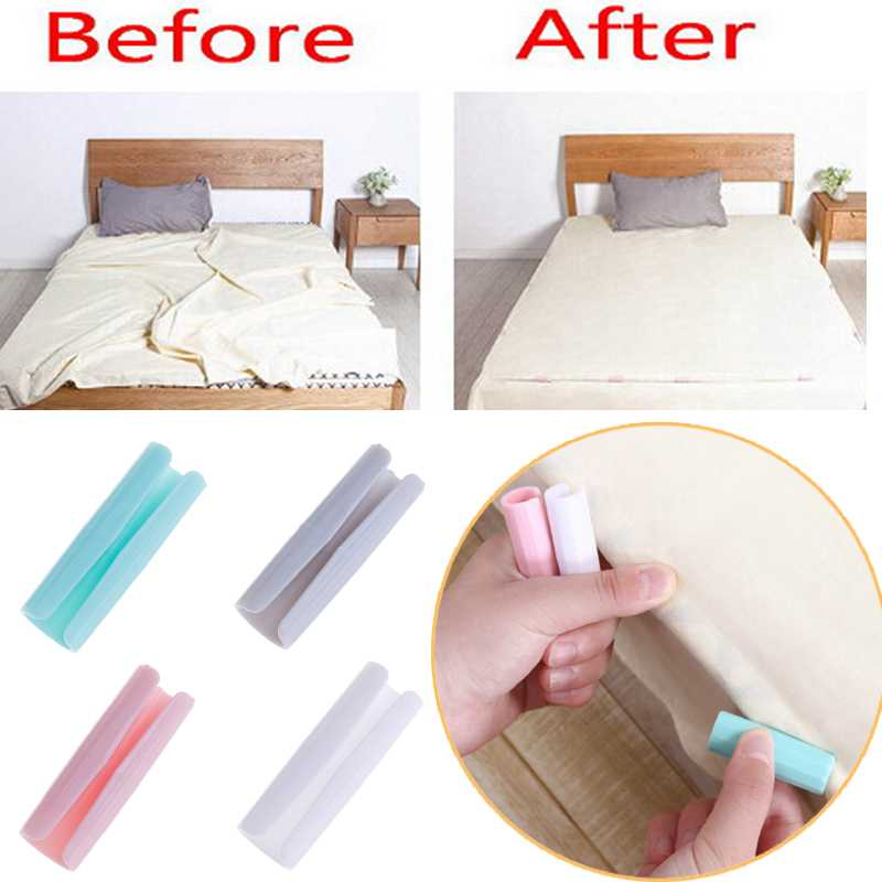 12pcs Set Home Living Blankets Bed Sheet Clip Fasteners Mattress