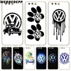 WEBBEDEPP Volkswagen VW R Logo Hard Case for Huawei P20 Pro smart P10 P9 Lite 2016/2017 P8 Lite 2015/2017
