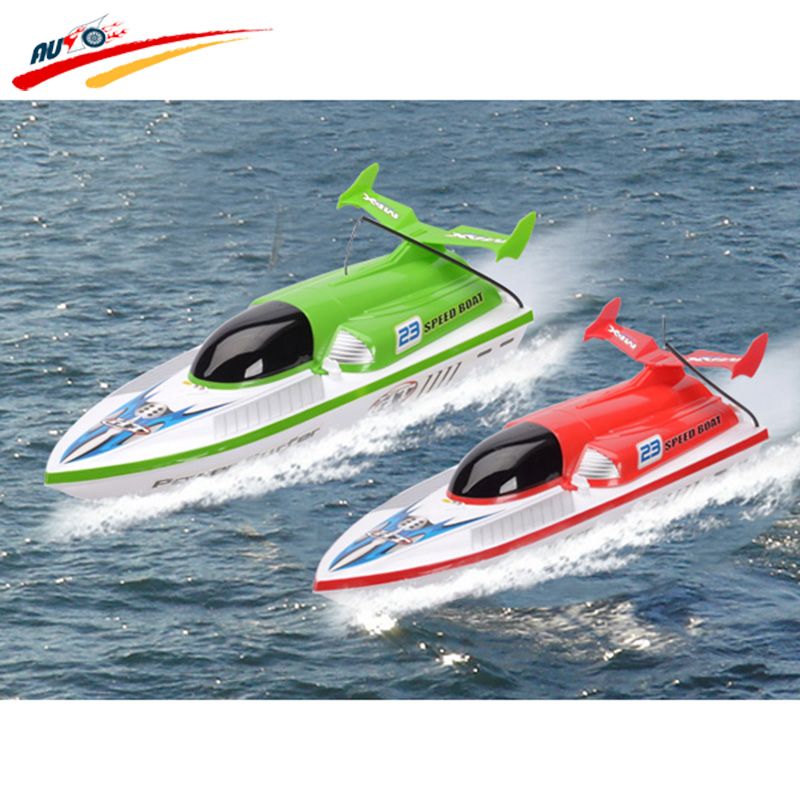 RC Boat  Big Surfing Speedboat Racing Machine Model Boat For Kids Gift Toys aluminum water cool flange fits 26 29cc qj zenoah rcmk cy gas engine for rc boat