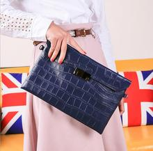 women flap bag first layer cowhide leather handbag classic brand luxury party evening bag alligator printing leather bag